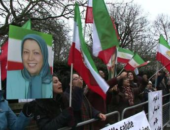 ifmat - Iranian opposition party holds London protest demanding end of torture