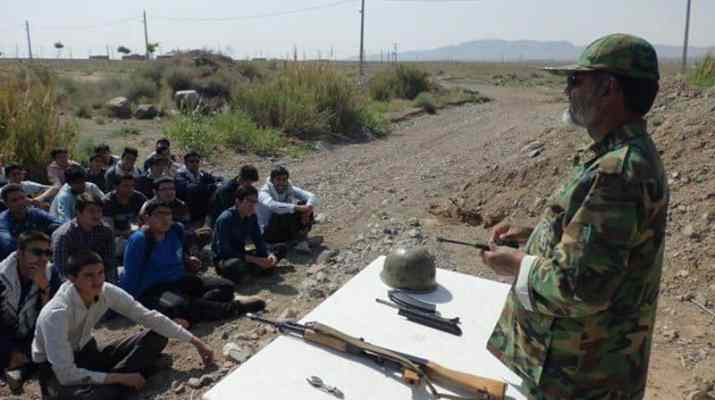ifmat - Iranian regime Basij Force still use child soldiers