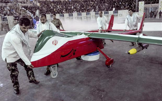 ifmat - Iranian regime drones spy on US ships