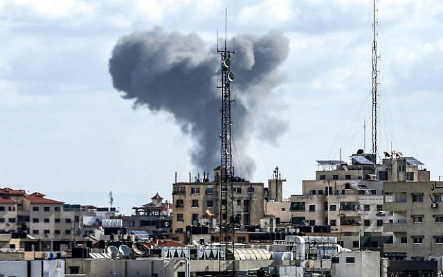 ifmat - Israel Blames Iran For Gaza Rocket Strike