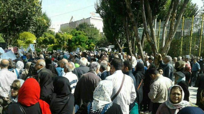 ifmat - Pressure on Iranian regime is mounting