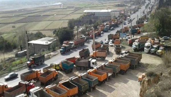 ifmat - Striking truck drivers crippling Iranian regime