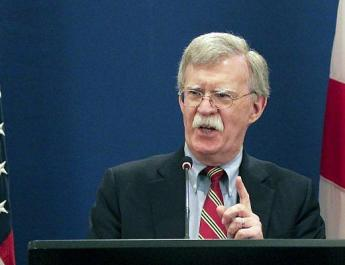 ifmat - US security chief Bolton vows to pressure Iranian regime