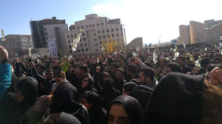 ifmat - Demonstration and protest of Azad University students in Iran