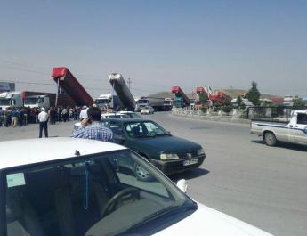 ifmat - Fifth round of strikes in Iran by truck drivers