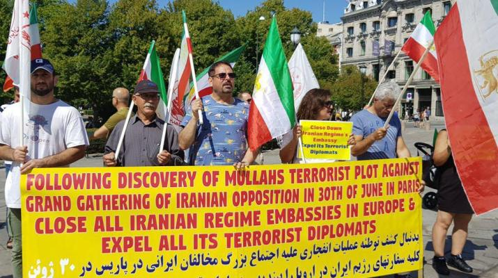 ifmat - Iran regime stages terrorist operations against the opposition in the US and EU