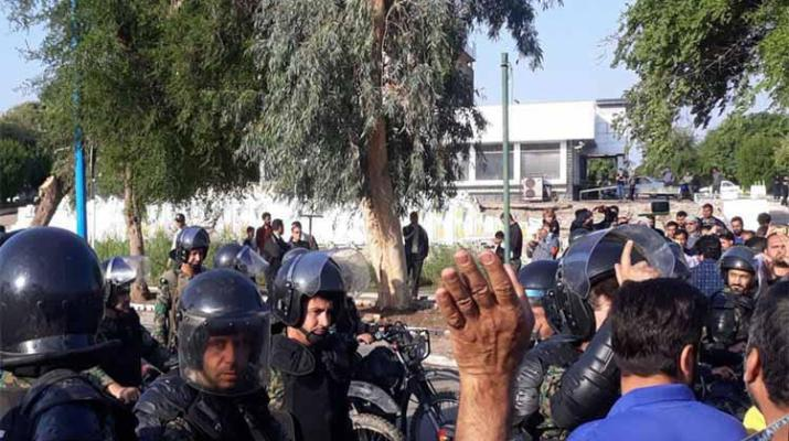 ifmat - Iranian authorities take repressive measures against protesting workers