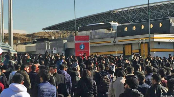 ifmat - Iranian students continue protests