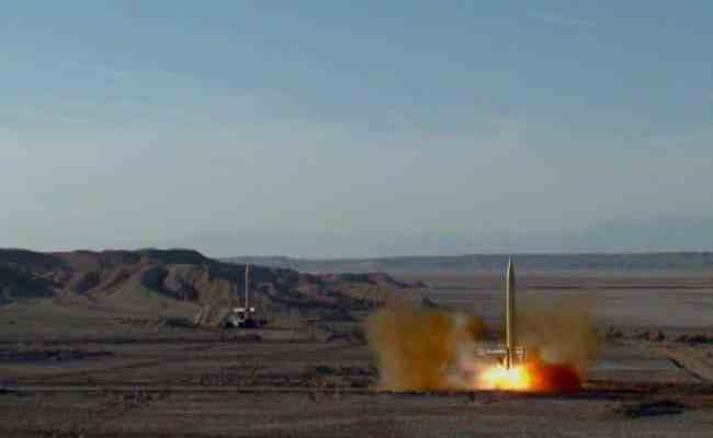 ifmat - Missile launch shows Iranian regime determination to increase tension