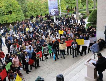 ifmat - Protests and strikes continue across Iran