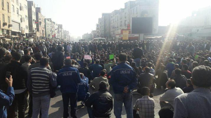 ifmat - Raid to the homes of representatives of Ahvaz Steel workers in Iran