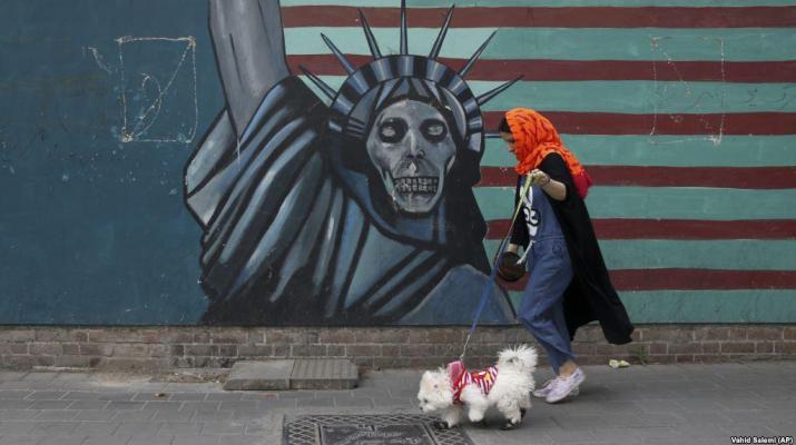ifmat - Critics howl as Tehran bans dogs