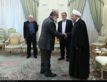 ifmat - Iran Meets with Palestinian Islamic Jihad leaders