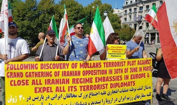 ifmat - Iran regime terror threats on EU soil sparks new sanctions since nuclear deal