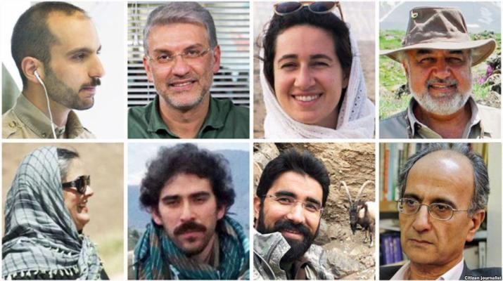 ifmat - Iranian environmentaliss accused of spying go on trial