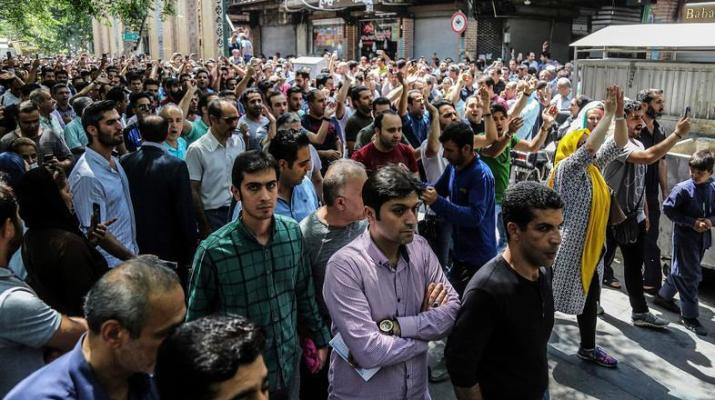 ifmat - Massive protests and a nationalwide uprising against the Iranian regime in 2018