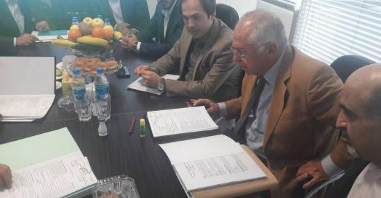 ifmat - STICON signed a memorandum of understanding with Iran sanctioned entity5