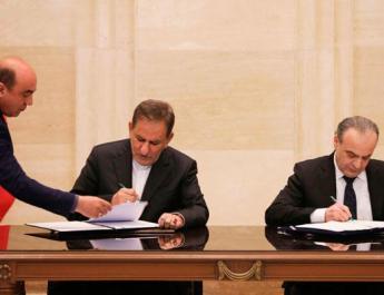 ifmat - Syria and Iran sign strategic economic agreement