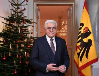 ifmat - German president lauds Iran on revolution that seeks Israel destruction