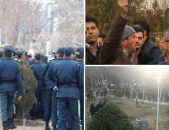 ifmat - Iran regime attacks peace protest for water rights
