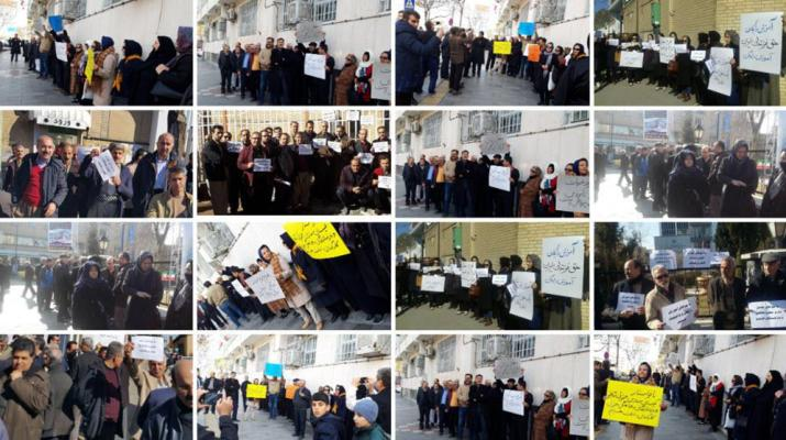 ifmat - Iran teachers stage fourth strike this year