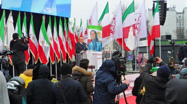 ifmat - Iranians express support for the resistance and regime change in Warsaw
