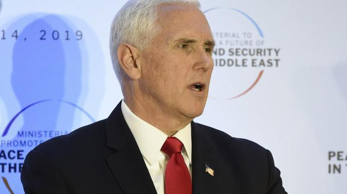 ifmat - Pence calls on EU to withdraw from Iran nuclear deal
