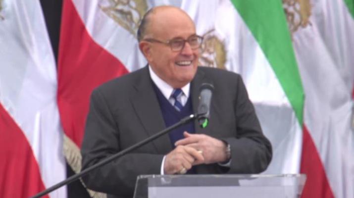 ifmat - Rudy Giuliani urges Warsaw summit leaders firmness on Iran