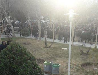 ifmat - Security forces attack peaceful gathering near Isfahan