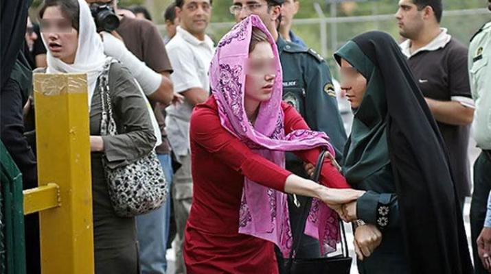 ifmat - Young Iranian woman arrested for improper hijab battered in prison