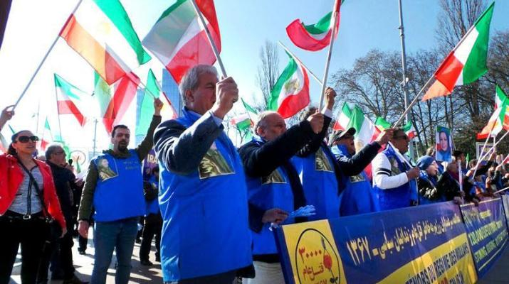 ifmat - Demonstration against human rights violations in Iran