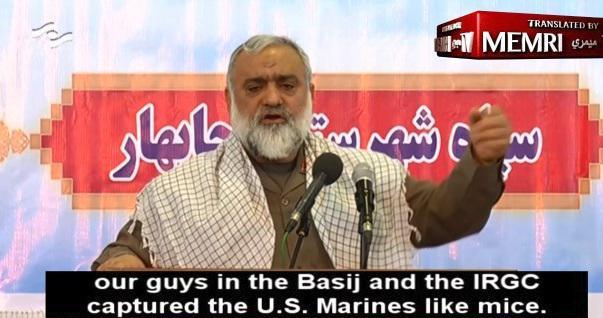 ifmat - IRGC commander says real man kill US marines