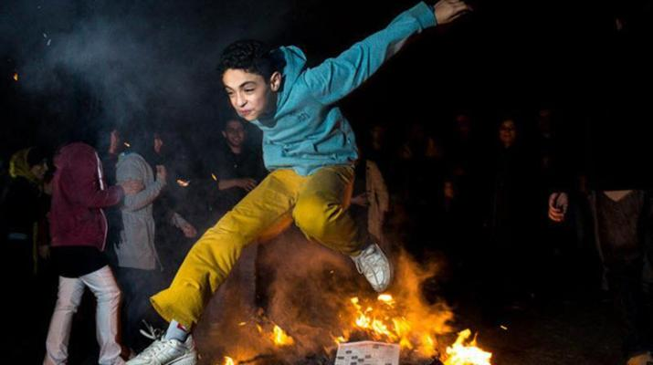 ifmat - Iranian fire festival is making clerical regime nervous