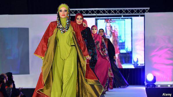 ifmat - Iranian label accused of organising un-Islamic fashion show
