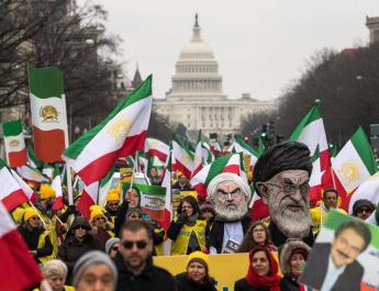 ifmat - Powerful display of support for Iran opposition in Washington March