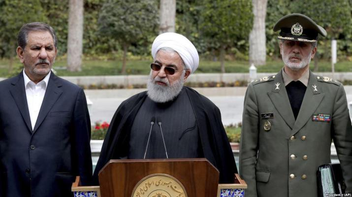 ifmat - Rouhani calls for prosecution of US officials