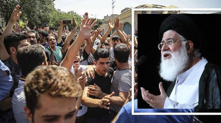 ifmat - Top Iranian cleric warns of uprising in 2019