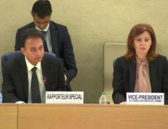 ifmat - UN expert slams Iran regime human rights abuses
