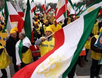 ifmat - Washington protesters demand regime change in Iran