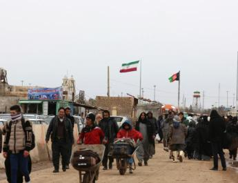 ifmat - Afghans recruited by Iran for Syria war return home