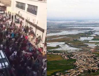 ifmat - Enraged Ahvaz locals protest against regime flood policies
