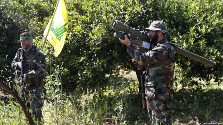 ifmat - Following Iraqi shiite militias Hezbollah shows up in Iran for flood relief