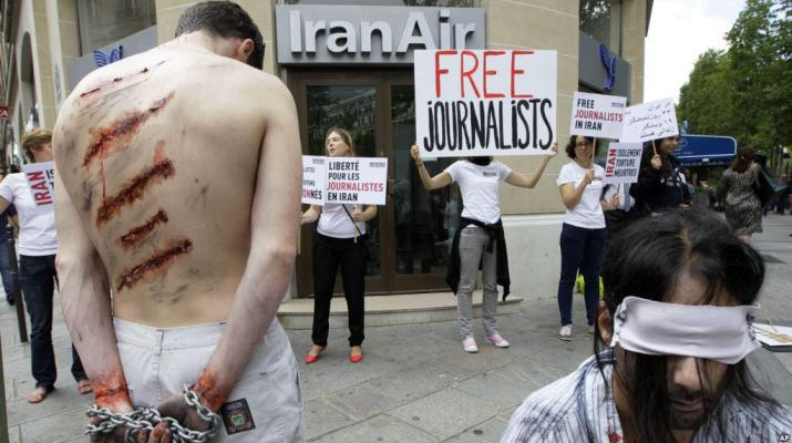 ifmat - Iran regime sinks in press freedom index after jailing more journalists