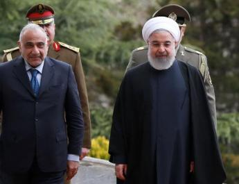 ifmat - Iraqi prime minister visits Iran as sides seek to expand commercial ties