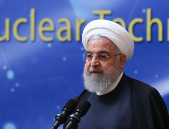 ifmat - Rouhani threatens the US with new centrifuges