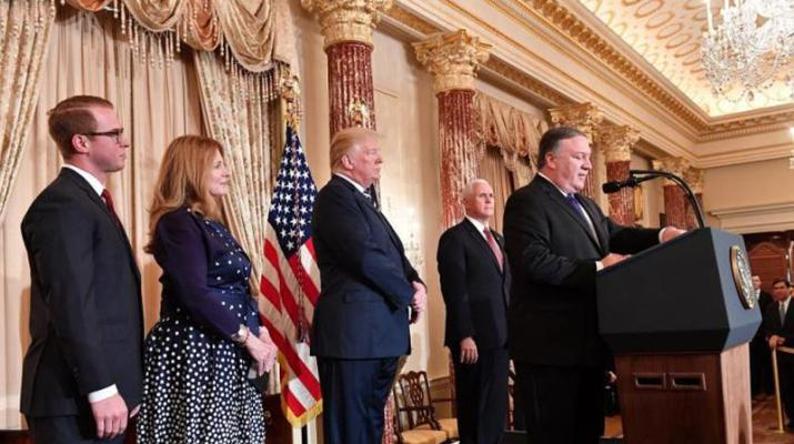 ifmat - US takes major steps toward Iran regime