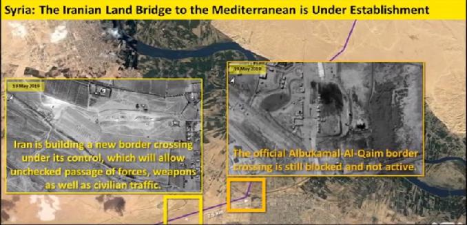 ifmat - Iran Regime new ways to smuggle weapons to proxies via Syria and Iraq