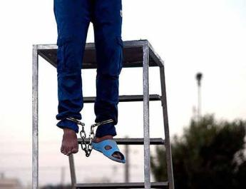 ifmat - Iran publicly hangs prisoner in western city of Hamedan