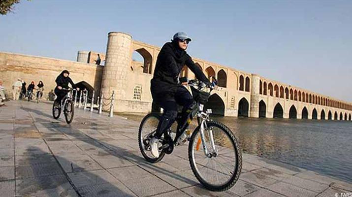 ifmat - Iranian Regime says womens cycling is sinful act