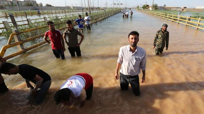 ifmat - Months after flooding Iran still wtihholds relief and attacks victims